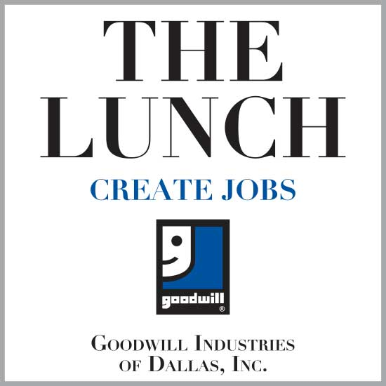Goodwill Industries of Dallas THE LUNCH Logo